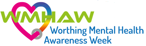 Worthing mental health awareness Week logo