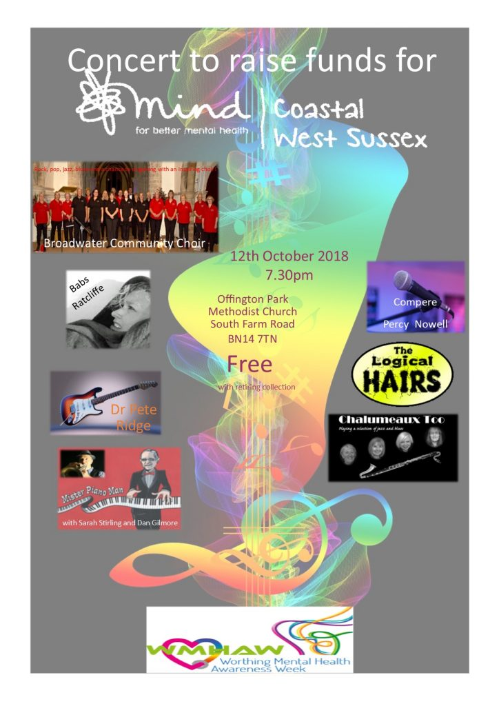 Charity Concert for Coastal West Sussex Mind