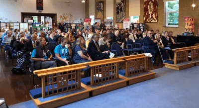 our audience at our 2018 launch